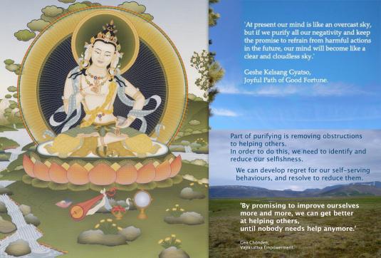 Vajrasattva, Buddha of Purification