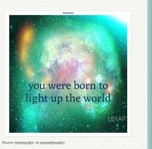 light up th world