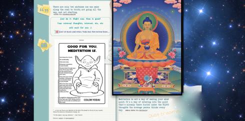 cosmic meditation images