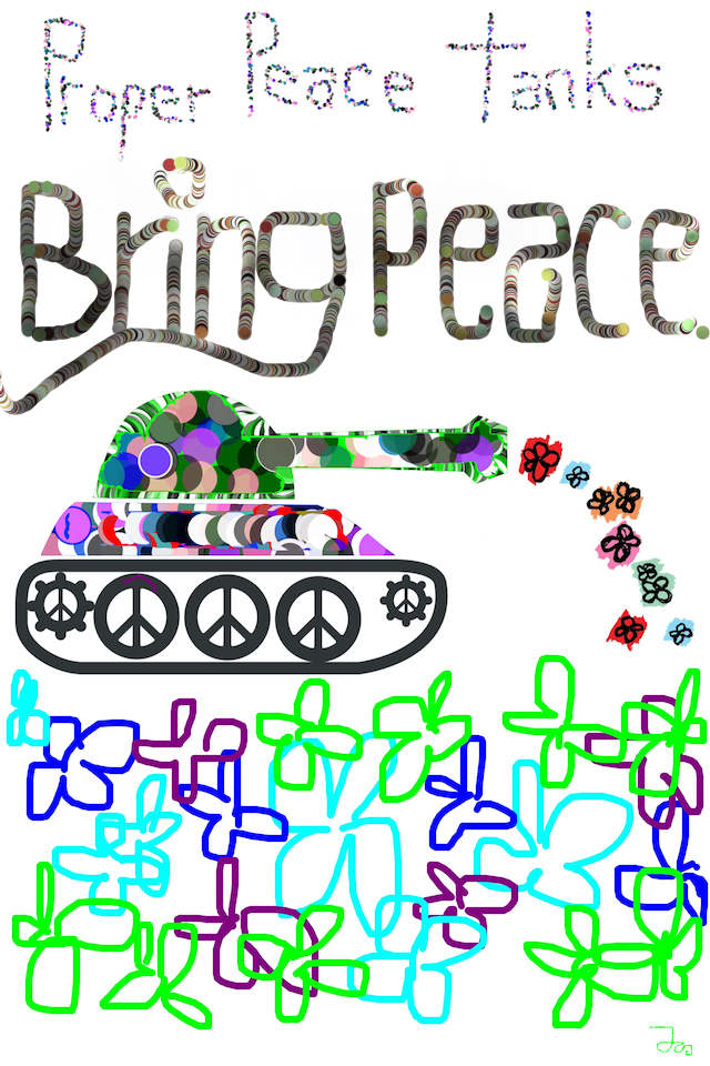 Proper Peace Tanks Bring Peace