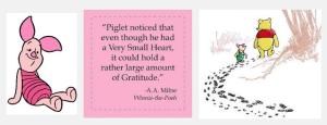 piglet, pooh, gratitude