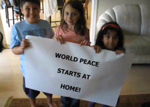 World peace starts here ♡