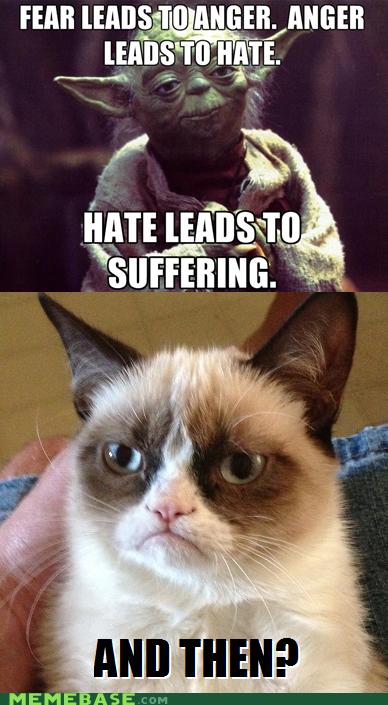 Grumpy Cat Yoda