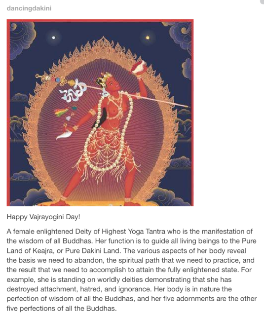 Happy Vajrayogini Day