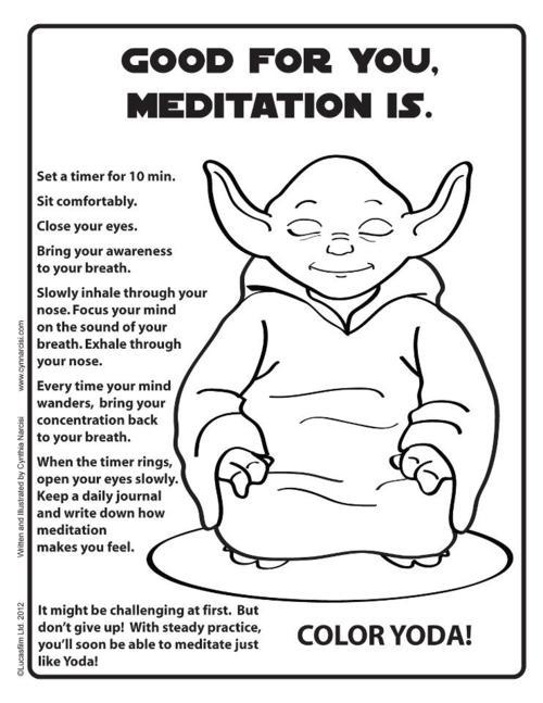 yoda meditating guide